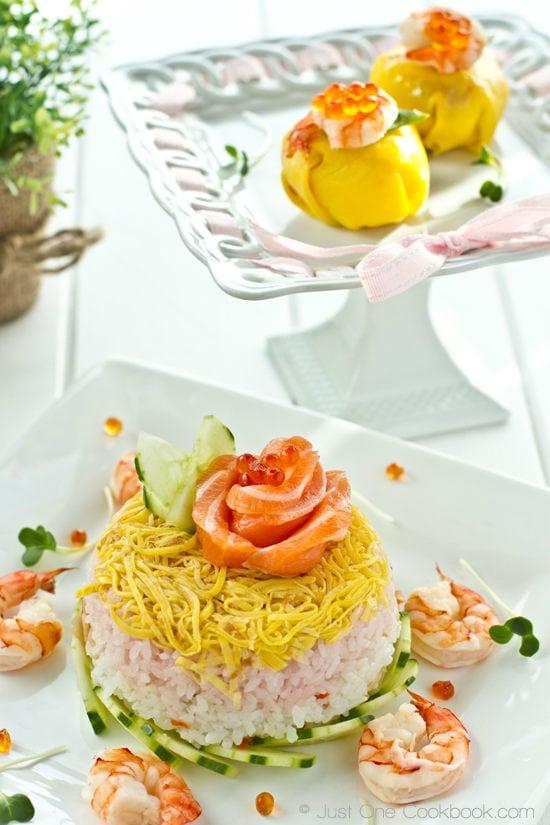 Chirashi Sushi Cake II