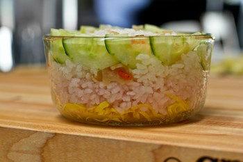 Chirashi Sushi Cake & Temari Sushi 4