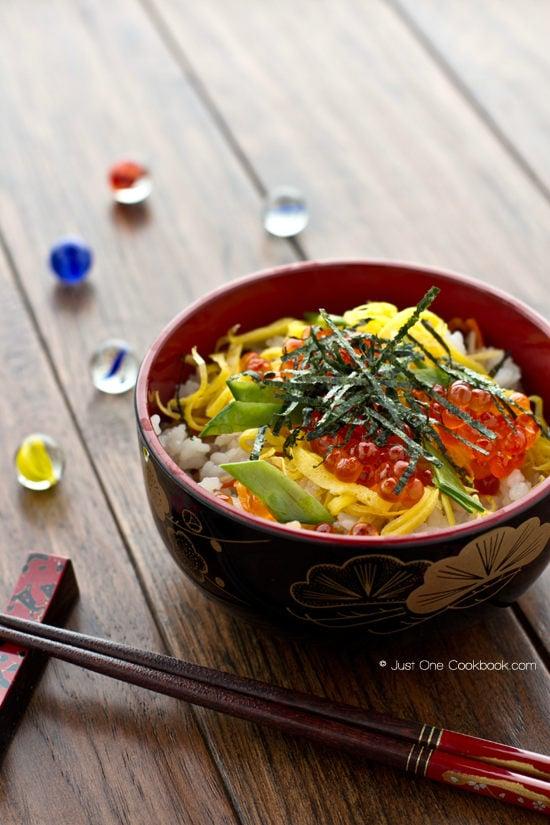 Quick & Easy Chirashi Sushi | JustOneCookbook.com