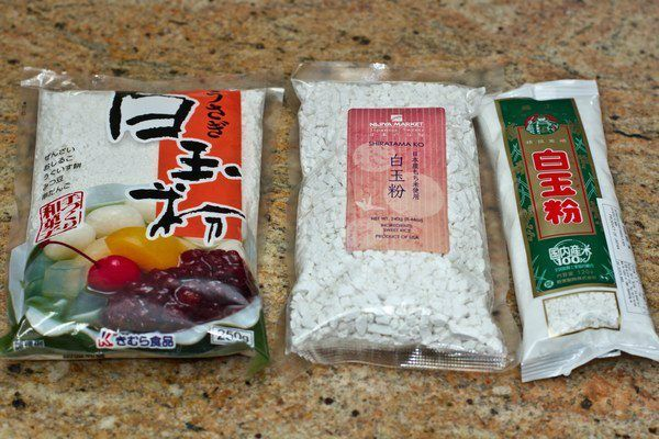 Shiratamako (Glutinous Rice Flour)