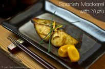 Spanish Mackerel with Yuzu