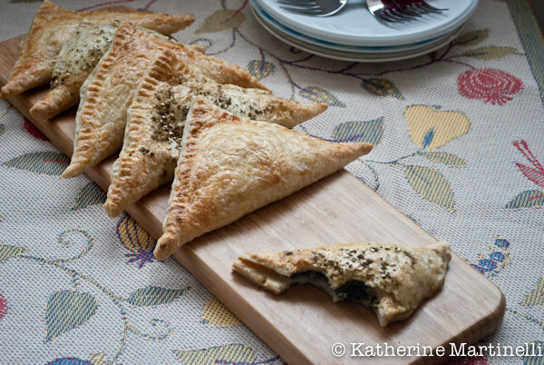 Spinach and Feta Turnovers II