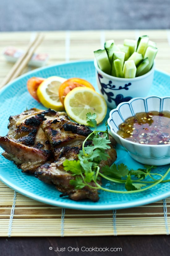Grilled Lemongrass Chicken | Easy Japanese Recipes at JustOneCookbook.com