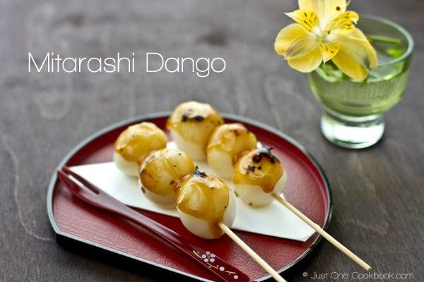 Mitarashi Dango | JustOneCookbook.com