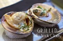 Grilled Clams (Little Neck Clams) はまぐりの醤油焼き