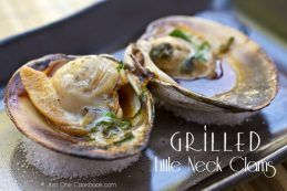 Grilled Little Neck Clams