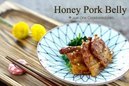 Honey Pork Belly Recipe | JustOneCookbook.com