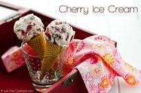 Cherry Ice Cream | JustOneCookbook.com