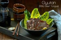Gyutan (BBQ Beef Tongue)