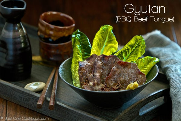 Gyutan | BBQ Beef Tongue Recipe | JustOneCookbook.com