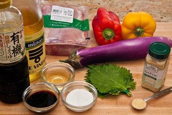 Chicken Nanban Ingredients