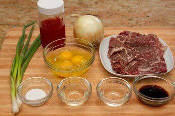 Gyudon Ingredients