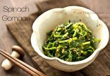 Spinach Gomaae | Spinach with Sesame Sauce @JustOneCookbook.com