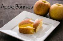 How To Make Apple Bunny (Apple Rabbit)