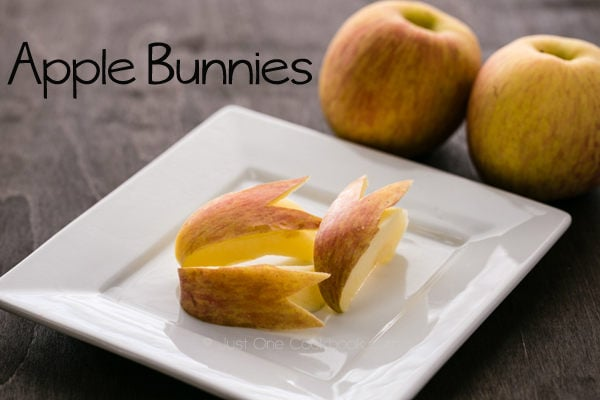 Apple Bunny | Just One Cookbook.com