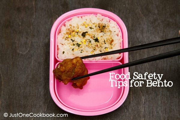 Bento 101 Food Safety Tips