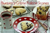 Blueberry Creme Fraiche Scones | JustOneCookbook.com