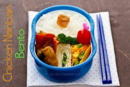 Chicken Nanban Bento | Just One Cookbook.com