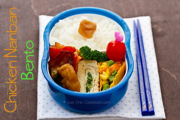 Chicken Nanban Bento Recipe | JustOneCookbook.com
