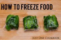How To Freeze Food For Bento
