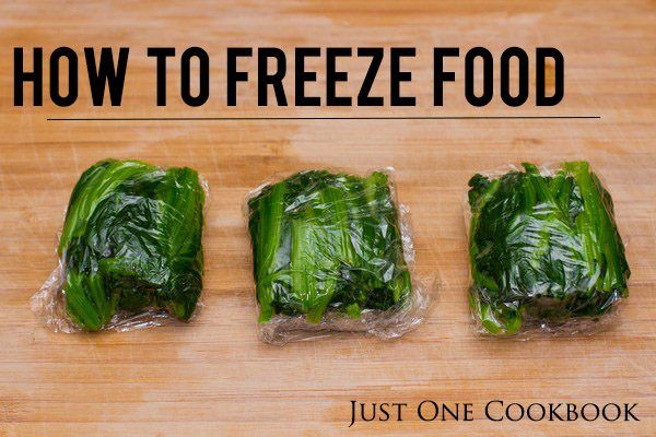 How To Freeze Food