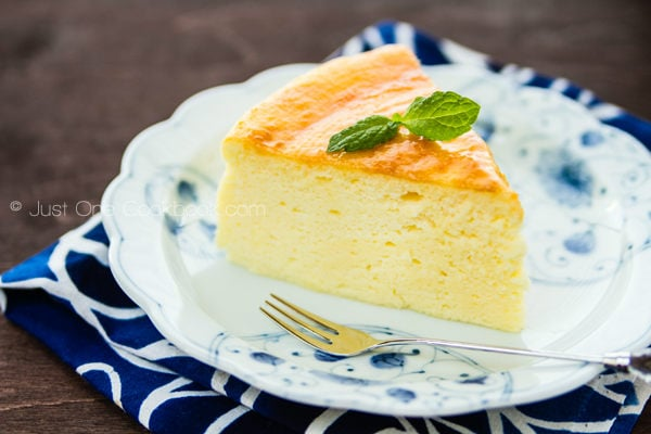 Japanese Cheesecake | Just One Cookbook.com