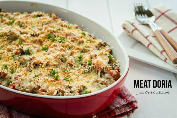 Meat Doria Recipe   JustOneCookbook.com