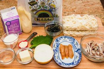 Mentaiko Pasta Ingredients