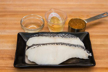 Miso Chilean Sea Bass Ingredients