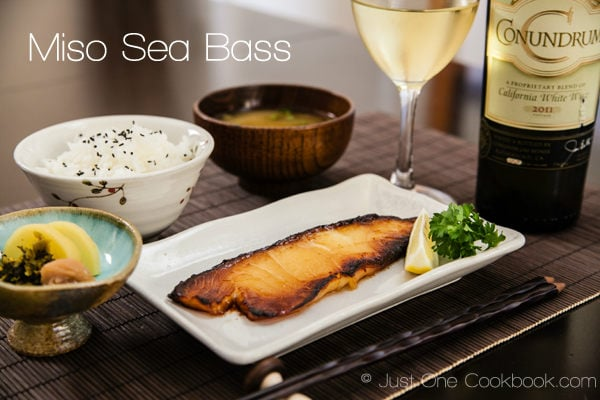 Miso Sea Bass Recipe | JustOneCookbook.com