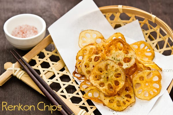 Renkon Chips | Just One Cookbook.com