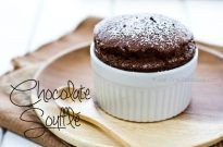 Chocolate Souffle | JustOneCookbook.com
