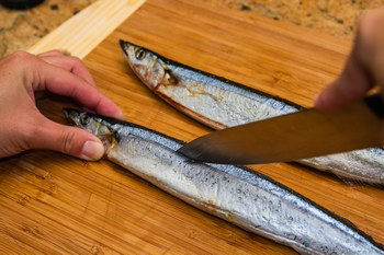 Grilled Sanma 3
