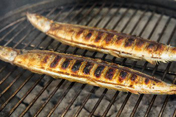 Grilled Sanma 8