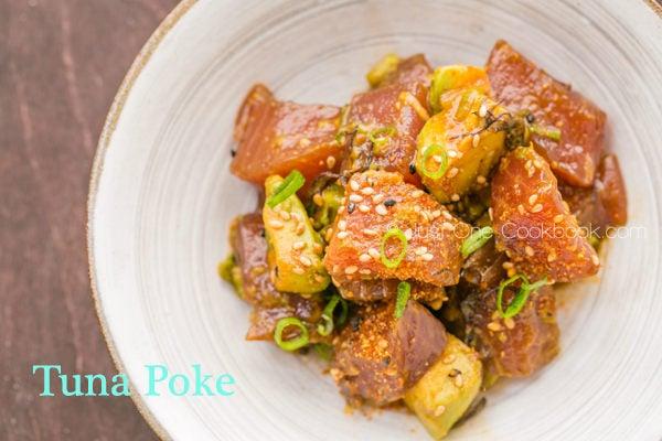 Tuna Poke | JustOneCookbook.com