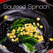 Sauteed Spinach   Just One Cookbook.com
