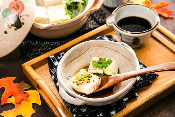Hot Tofu (Yudofu) | JustOneCookbook.com