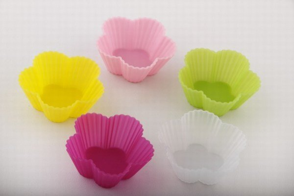 Flower Silicon Cups
