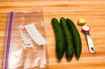 Pickled Cucumbers Ingredients