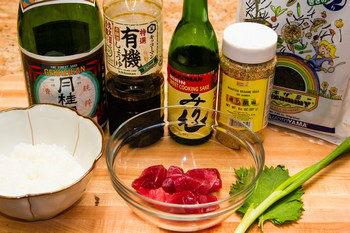 Tekka Don Ingredients