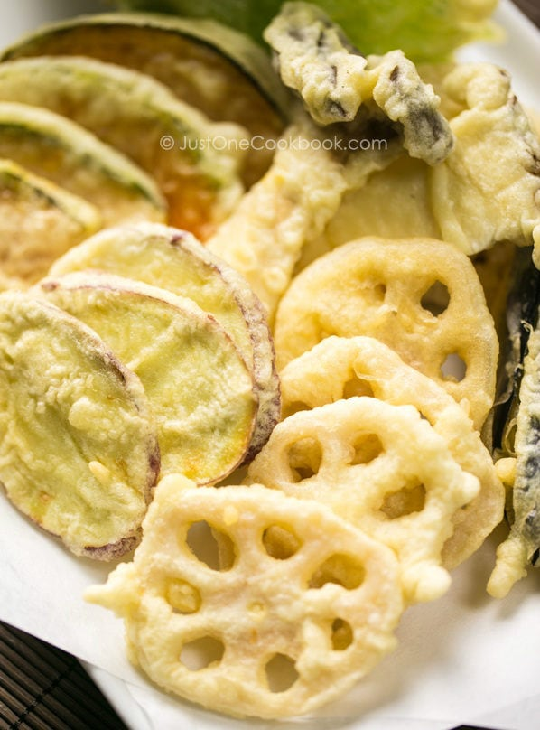 Vegetable Tempura | JustOneCookbook.com