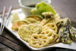 Vegetable Tempura 野菜の天ぷら | Easy Japanese Recipes at JustOneCookbook.com