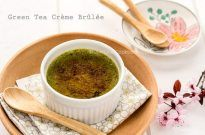 Green Tea Creme Brulee | JustOneCookbook.com