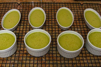 Green Tea Creme Brulee 7