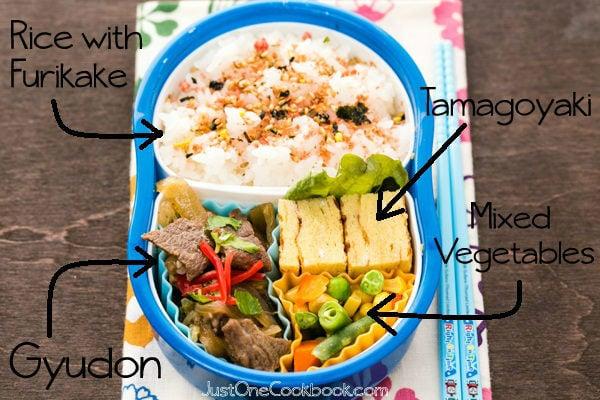 Gyudon Bento Recipe | JustOneCookbook.com