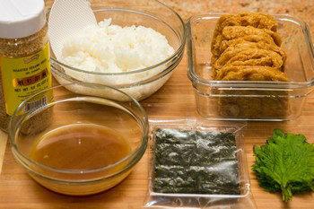 Inari Sushi Ingredients