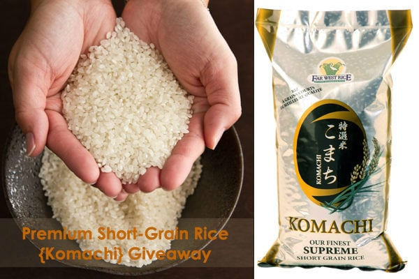 Japanese Rice Giveaway | JustOneCookbook.com