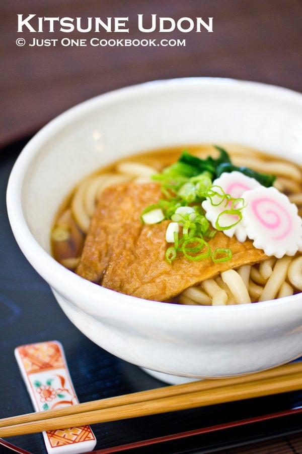 Kitsune Udon | JustOneCookbook.com