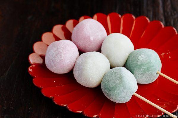 Sanshoku Dango | Easy Japanese Recipes at JustOneCookbook.com
