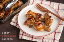 Honey Soy Sauce Chicken はちみつ醤油チキン